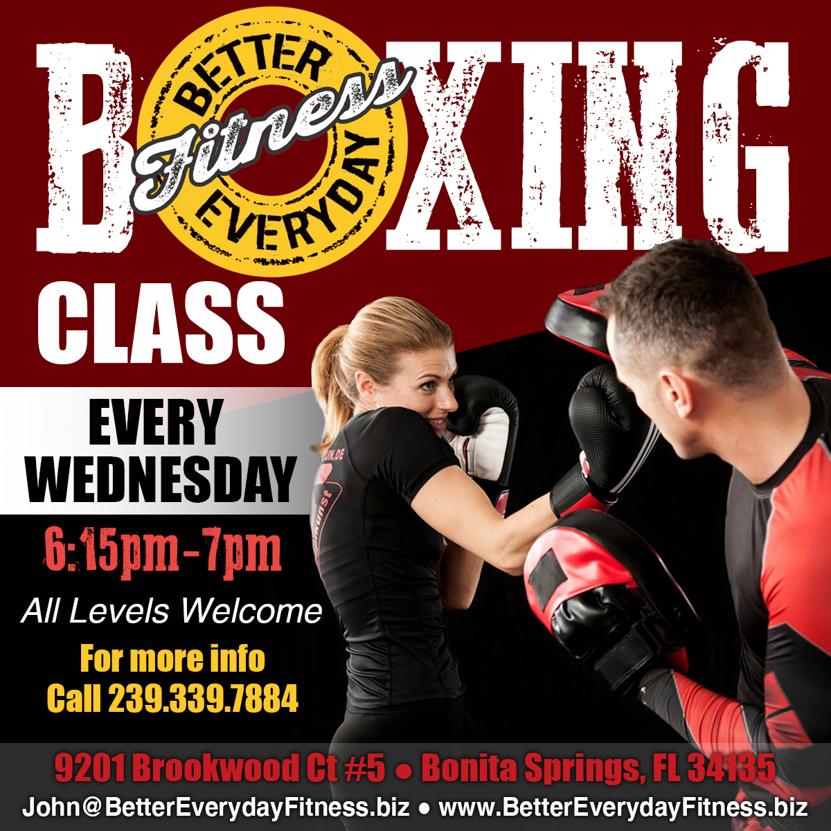Boxing Class Ad_1